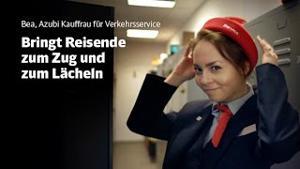 """Kampagne: Deutsche Bahn """"Willkommen. Du passt zu uns, Bea"""""""