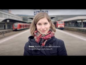 """Kampagne: Deutsche Bahn: """"Willkommen. Du passt zu uns, Dana"""""""