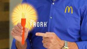 "Kampagne: McDonald's ""Introducing the Frork"" 2017"
