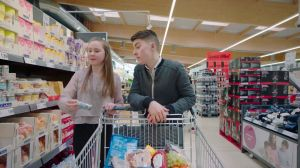 Kampagne: Lidl: Trolley-Cam Denis and Marie