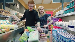 Kampagne: Lidl: Trolley-Cam Luke and Amy