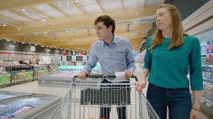Kampagne: Lidl: Trolley-Cam Craig and Mairead