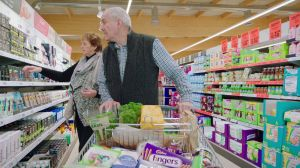Kampagne: Lidl: Trolley-Cam Adrian and Mary
