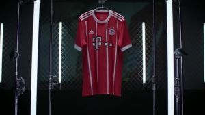 Kampagne: FC Bayern München: Heimtrikot 2017/18