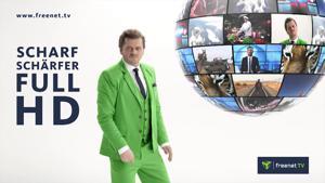 Kampagne: Freenet - Scharf, schärfer, FULL-HD