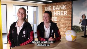 Kampagne: Nationalspielerin Melanie Leupolz im Interview mit der Commerzbank