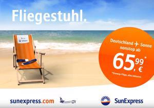Kampagne: Sun Express: Fliegestuhl