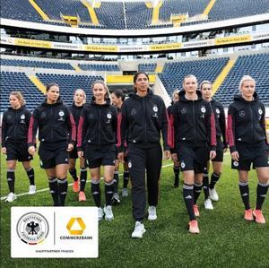 Kampagne: Commerzbank - Frauen-Nationalmannschaft