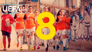 Kampagne: Uefa: #WePlayStrong