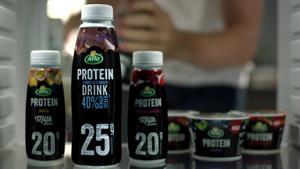 Kampagne: Arla Protein - Bleib stark