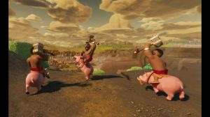 Kampagne: Clash of Clans: Hog Rider 360°