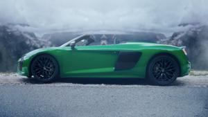 Kampagne:  Der Audi R8 Spyder V10 plus