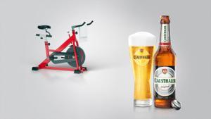 Kampagne: Clausthaler. Erfrischend nüchtern (Bike)