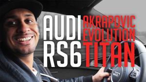 Kampagne: JP Performance - Audi RS 6 C7 | Akrapovič Evolution Titan Klappenabgasanlage