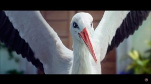 Kampagne:  Why do storks prefer the New Fiat 500L?