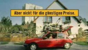 "Kampagne: Hornbach - ""Hornbach sagt sorry"" 2001"