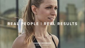 Kampagne: Freeletics - Real People, Real Results: Meet Hanna