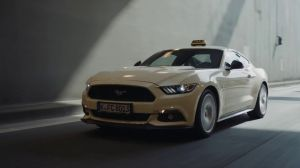 Kampagne: Das Ford Mustang Taxi - Ford
