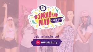 Kampagne: 8x4 - #SprayAndPlayChallenge