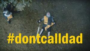 Kampagne: #DontCallDad - Ritter Schwert | ADAC