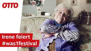 Kampagne: Irene feiert das OTTO Shopping Festival
