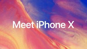 Kampagne: Meet iPhone X — Apple