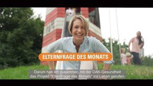 Kampagne: DAK-Gesundheit – Elternfrage des Monats mit Magdalena Neuner