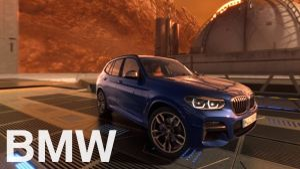 Kampagne: BMW X3. On a 360°mission to mars. A virtual testdrive.