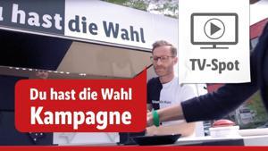 """Kampagne: Lidl """"Du hast die Wahl"""" 2017"""
