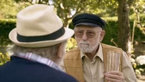 Kampagne: Sparkasse: Rentner machen auf Influencer