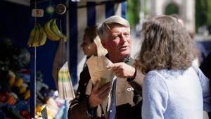 Kampagne: Volksbanken Raiffeisenbanken: Obst- und Gemüsehändler Didi präsentiert: Finanzberatung
