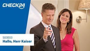Kampagne: Check24 -  2 unvergleichliche Familien: Hallo, Herr Kaiser