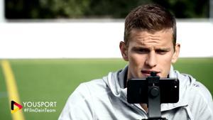 """Kampagne: YouSport: """"Zeig's allen: Film Dein Team""""."""