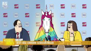 Kampagne: Ritter Sport Einhorn-Pressekonferenz 2017