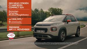 Kampagne: Der Neue Citroën C3 Aircross: #EndloseMoeglichkeiten