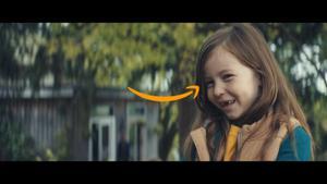Kampagne: Amazon Weihnachtswerbung 2017 – Lächeln schenken