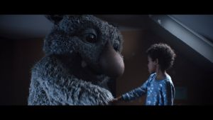 Kampagne: John Lewis Christmas Ad 2017 - #MozTheMonster