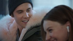 "Kampagne: Telekom ""Justin Bieber Weihnachtskampagne"" 2017"