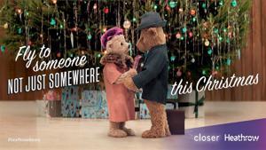 Kampagne: Heathrow Bears Christmas TV Advert - #HeathrowBears