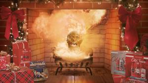 Kampagne: Ye Olde Exploding Yule Log | Old Spice