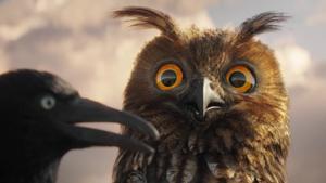 Kampagne: EnBW - Lustige Vögel auf der Stromleitung