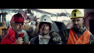 Kampagne: Volkswagen Nutzfahrzeuge. Tough is not enough.