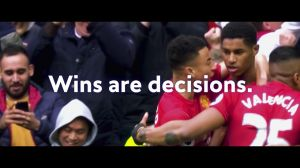 Kampagne: Swissquote - Manchester United: Wins are decisions