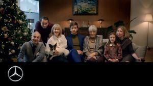 Kampagne: Future traditions: Ein Weihnachtsfilm von Mercedes-Benz