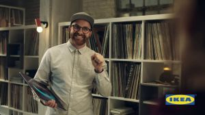 "Kampagne: IKEA Werbung: TV Spot ""Plattenladen"" (Langversion)"
