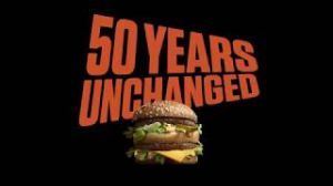 Kampagne: Big Mac - 50 Years Unchanged