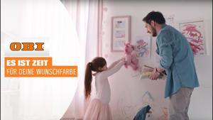 Kampagne: Obi - ES IST ZEIT FÜR DEINE WUNSCHFARBE!