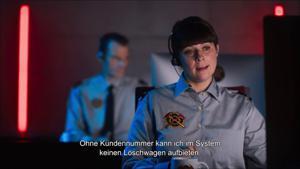 Kampagne: NoBillag Nein - Feuerwehr