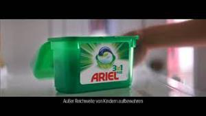 Kampagne: Ariel 3in1-Pods