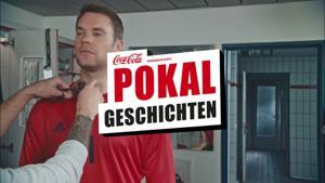 "Kampagne: Coca-Cola – Manuel Neuers Pokalgeschichte ""Erster Kuss"""